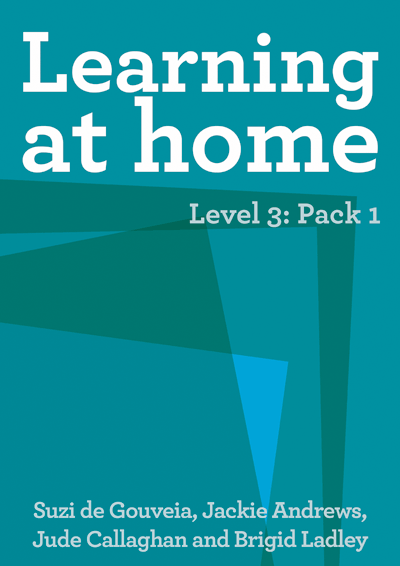 Learning at Home – Level 3: Pack 1 Cover