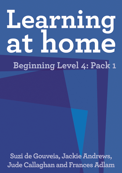 Learning at Home – Beginning Level 4: Pack 1 Cover
