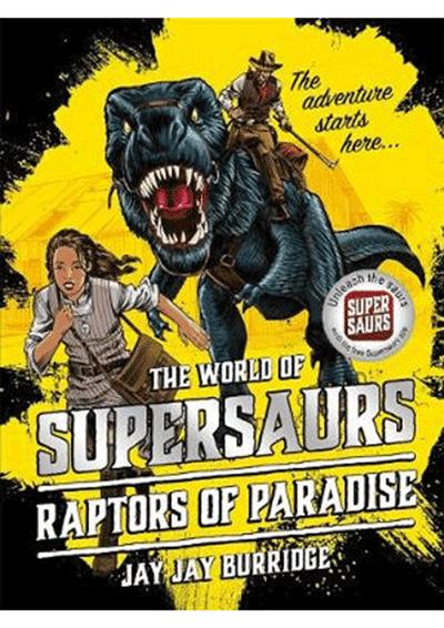 Supersaurs 1 Raptors Cover