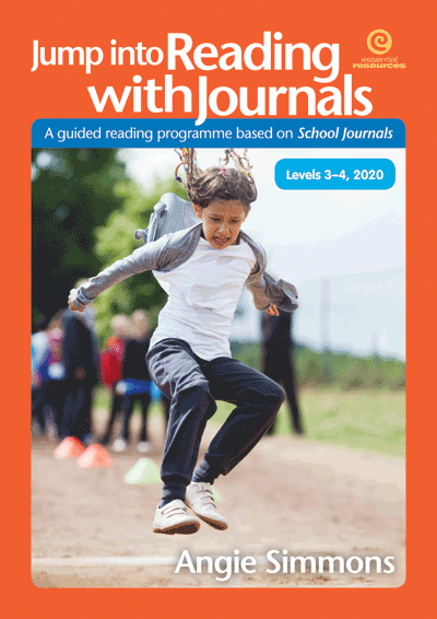 Jump into Reading with Journals, Levels 3-4, 2020 Cover