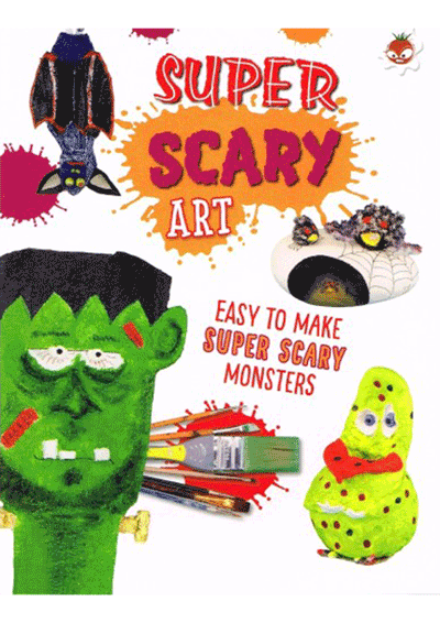Wild Art - Super Scary Art Cover