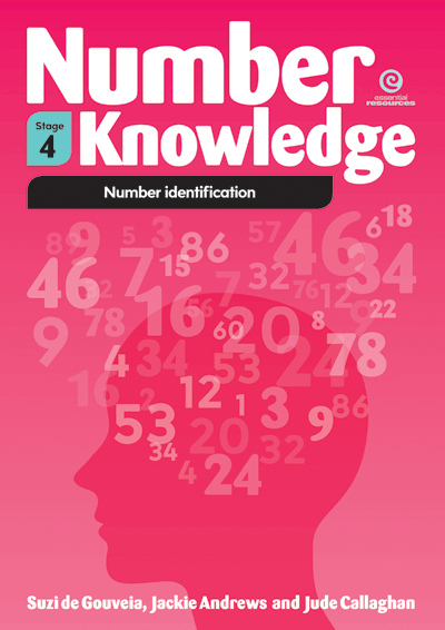 Number Knowledge: Number identification (Stage 4) Cover