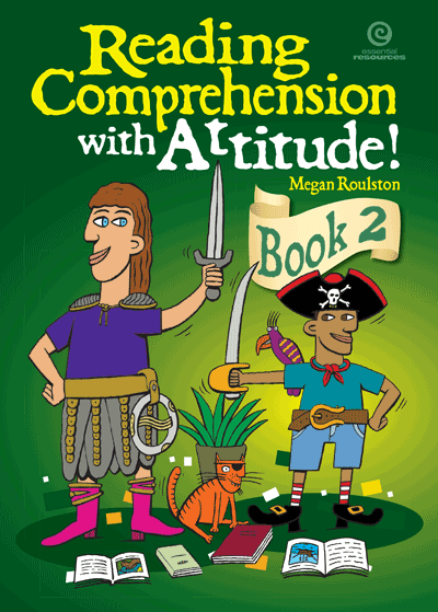 Reading Comprehension with Attitude! Bk 2 Cover