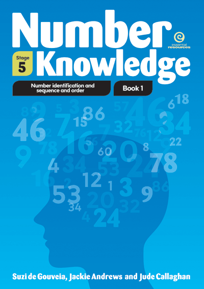 Number Knowledge: Number Identification Bk 1 (Stage 5) Cover
