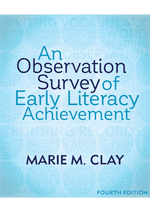 An Observation Survey of Early Literacy Achievement  4th ED